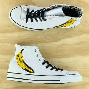 Converse X Andy Warhol Chuck Taylor All Star Shoes